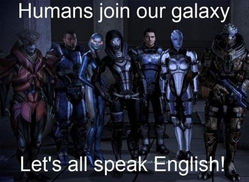 Mass Effect language logic